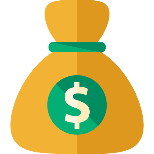 Money Bag, Money Bag, Money Sack Icon