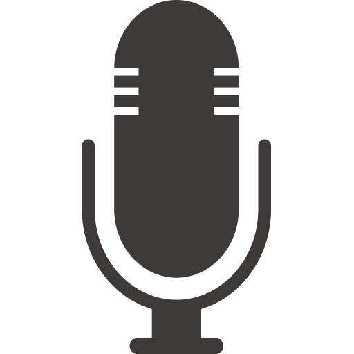 Hb   Mic, Mic, Microphone Icon