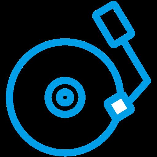 Dj, Mixing, Multimedia Icon