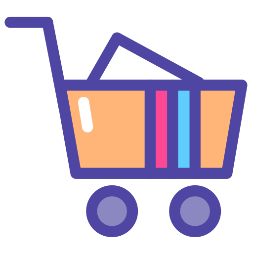 Shopping  2, Commerce, Online Shop Icon