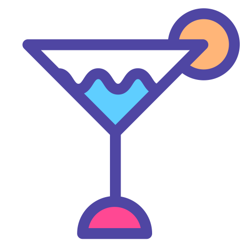 Cocktail, Cold, Drink Icon