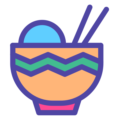 Chinese Food, Hot Soup, Meal Icon