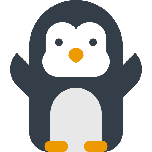 Penguin, Teddy, Toy Icon