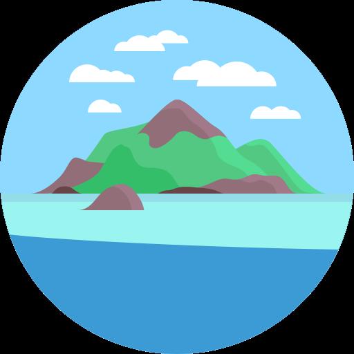 Island, Palm, Summer Icon