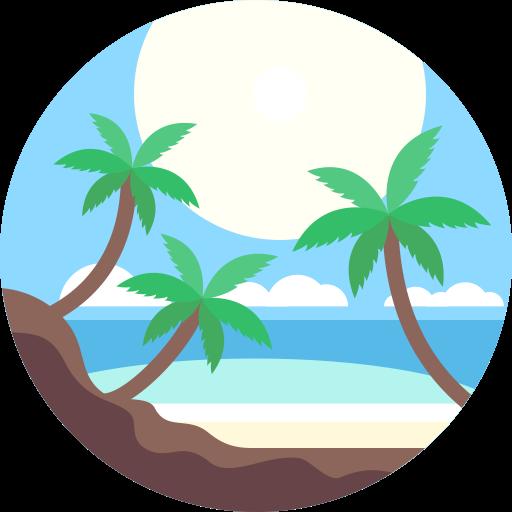 Beach, Chaise, Deckchair Icon