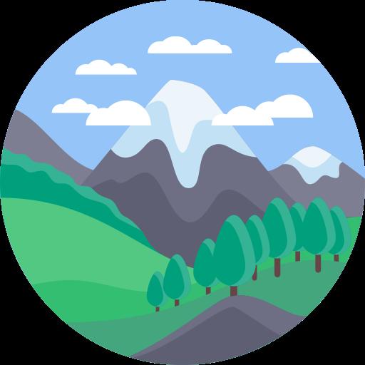 Mountain  1, Mountain, Train Icon