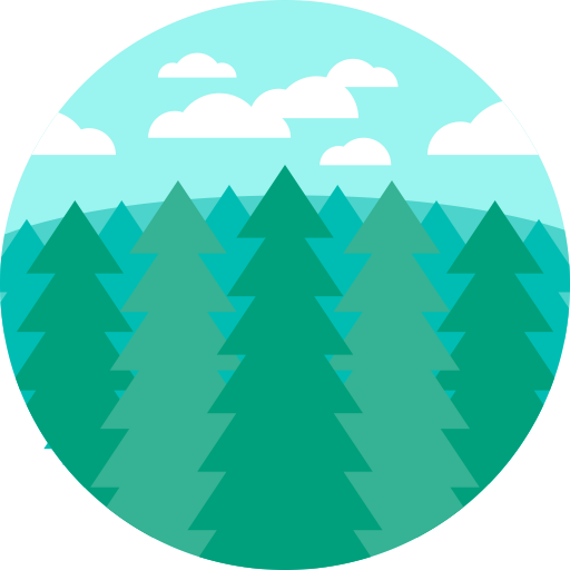 Fir, Generic Tree, Greenery Icon