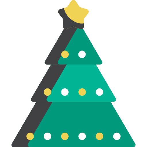 Christmas Tree, Christmas Tree, Fir Tree Icon