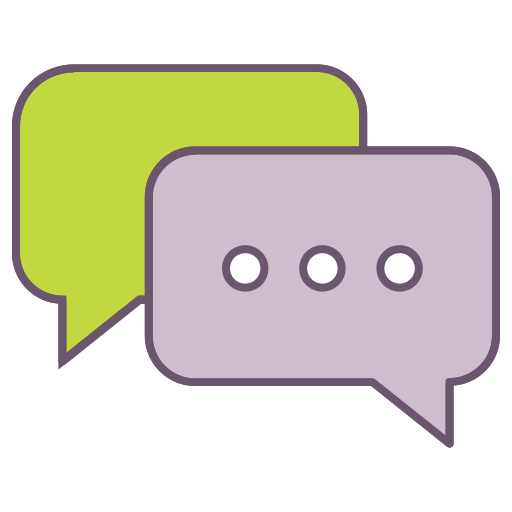 Chat Communication Office Bubble Talk Business 3aad96822bd690e3, Chat, Couplechat Icon