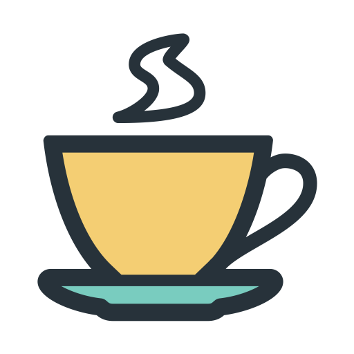 Color Block Tea, Tea, Tea Bag Icon