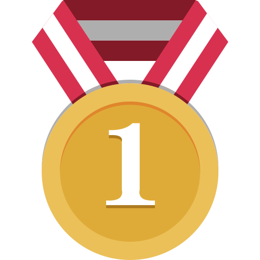 gold medal  medal  star medal icon with png and vector