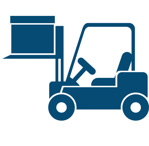 Forklift, Forklift, Forklift Truck Icon With PNG and ...