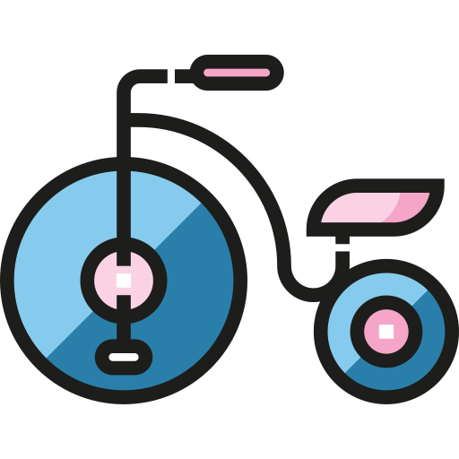 Tricycle, Transport, Vehicle Icon