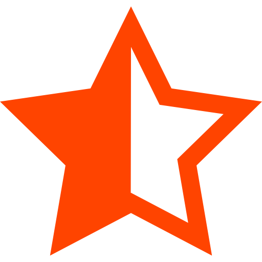 Half Star Half Health Icon With Png And Vector Format For Free