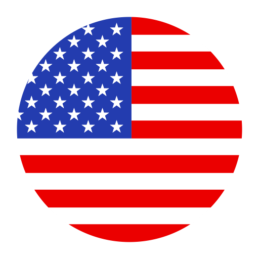 U S A, Flat, National Flag Icon