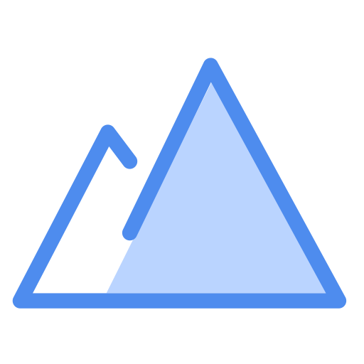 Trend Chart, Linear, Multicolor Icon