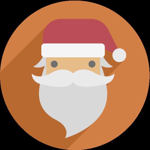 Szxdf  Santa Claus, Fill, Multicolor Icon