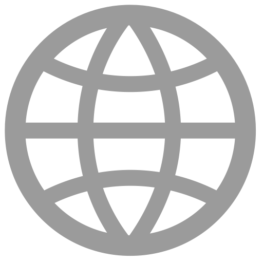 Globe; Globe Outline Icon