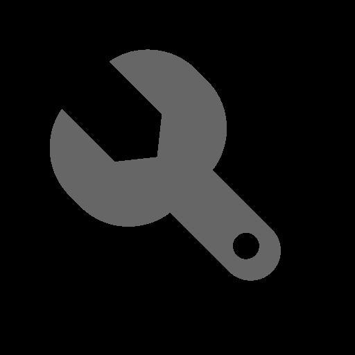Setting, Fill, Monochrome Icon