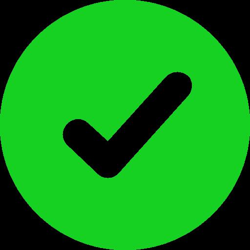 Ok   Green Icon Icon