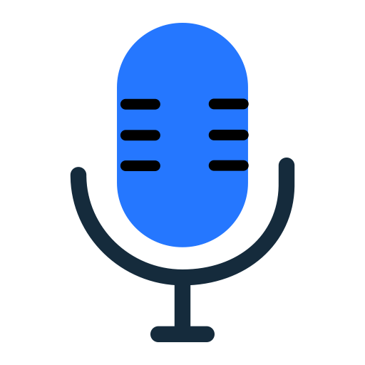 Voice, Fill, Flat Icon