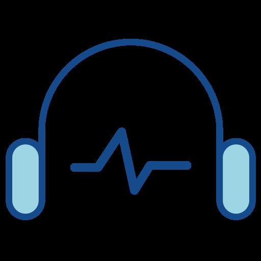 Audio, Fill, Multicolor Icon