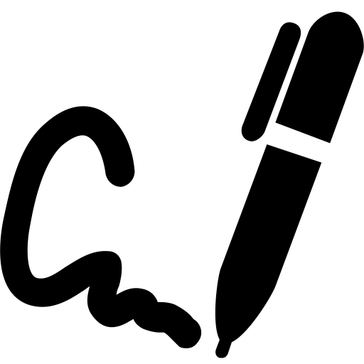 Copy For Writing, Writing Icon