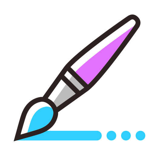 Brush, Child, Draw Icon