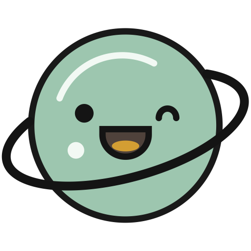 Earth, Flat, Multicolor Icon