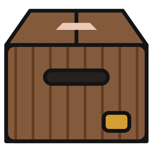Box, Multicolor, Lovely Icon