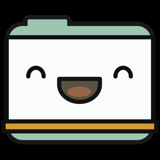 Folder, Multicolor, Lovely Icon