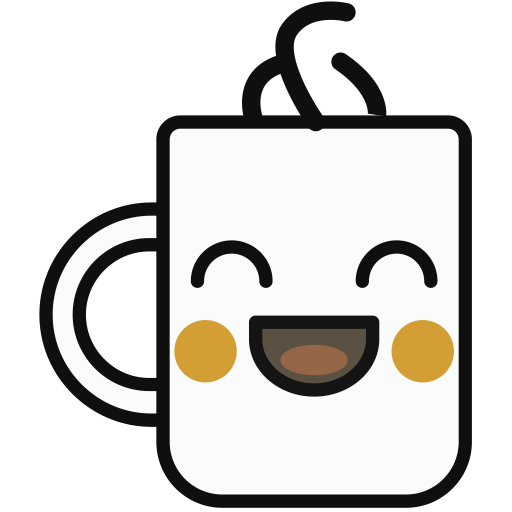 Cup, Multicolor, Lovely Icon