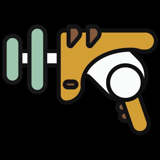 Corkscrew, Lovely, Multicolor Icon