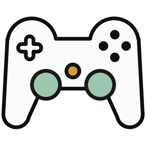 Game, Lovely, Multicolor Icon
