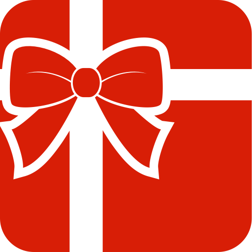 Gift-box-happiness-heart-shaped Icon