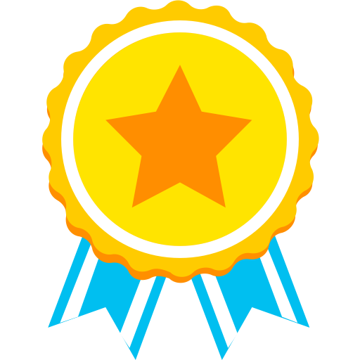 partner medal icon with png and vector format for free