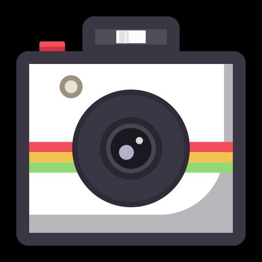 Camera, Flat, Lovely Icon