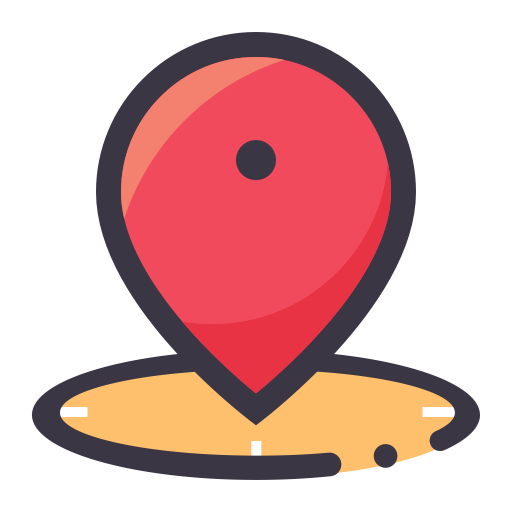 Address, Flat, Lovely Icon