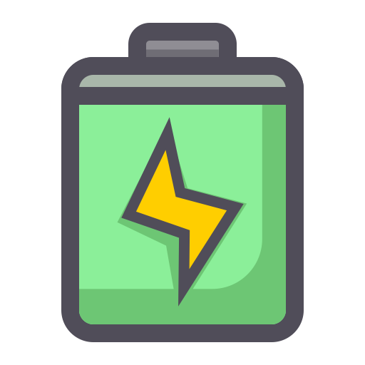 Battery, Flat, Lovely Icon