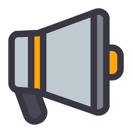 Voice, Flat, Lovely Icon