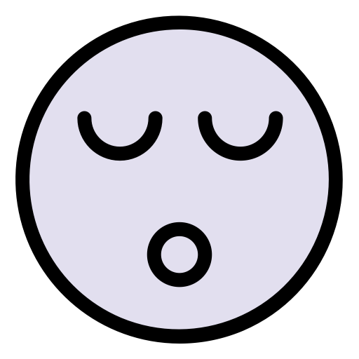 Sleep Snoring, Linear, Flat Icon