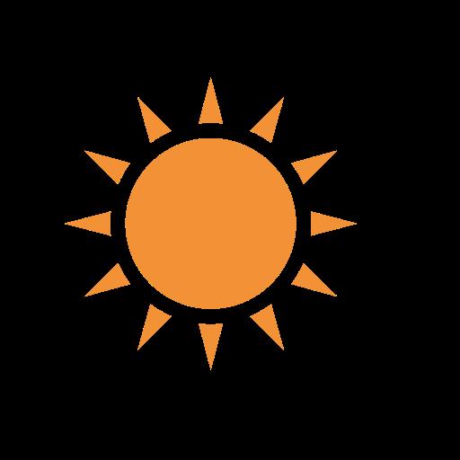 The   Sun   Time, Sun, Sunny Icon
