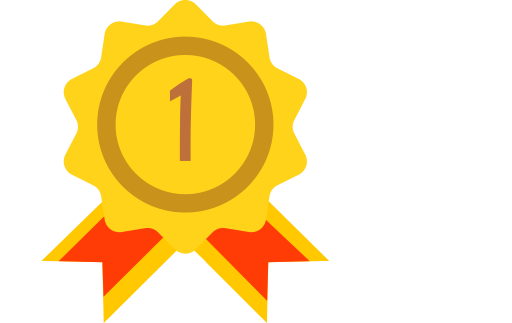 Gold Medal, Medal, Star Medal Icon
