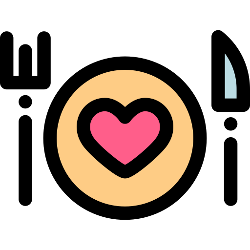 Valentines Day, Simple, Multicolor Icon