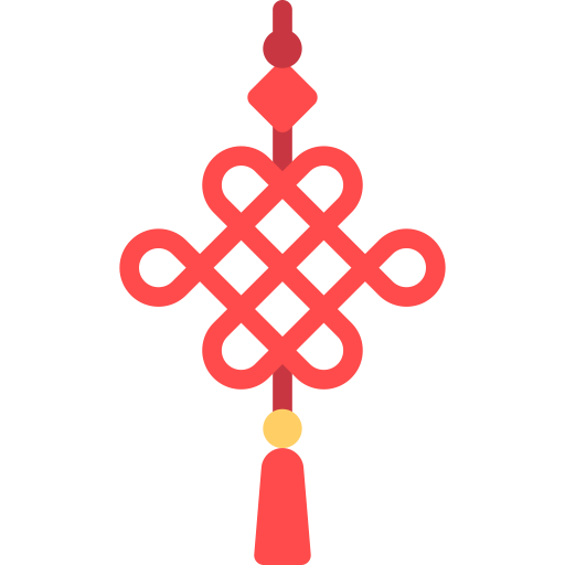Chinese Knot, Knot, Overhand Icon