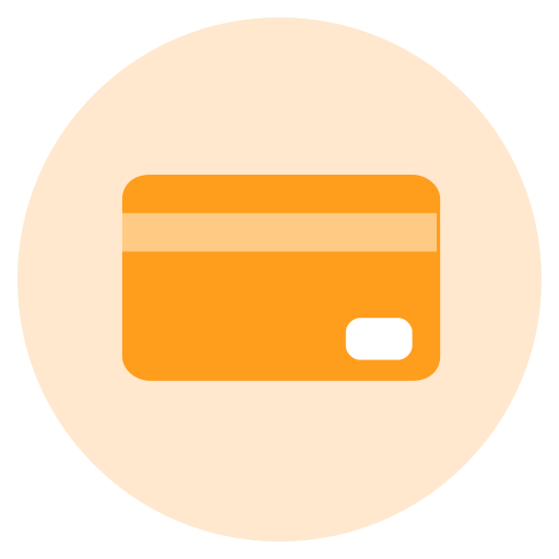 Credit Card, Debit Card, Dollar Icon