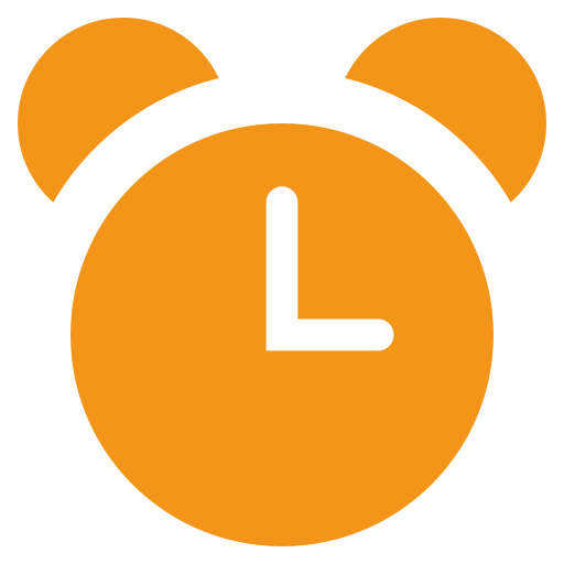 Timing, Time, Alarm Clock Icon