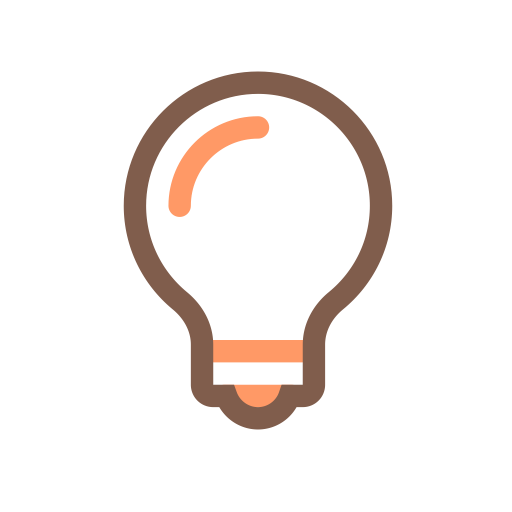Bulb, Electric, Lamp Icon