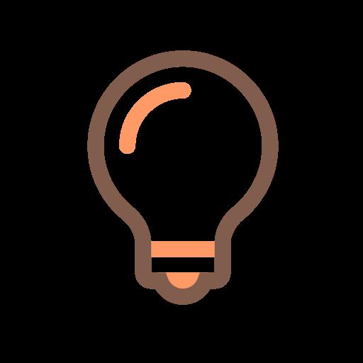 Bulb, Electric, Lamp Icon