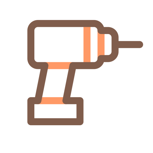 Electric Drill, Drill, Equipment Icon